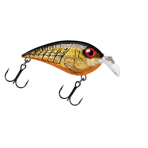 "Rapala Crankin' Rap Size 5 2.5"" 1/2 oz 4'-5' Fishing Lure, Melon Shad"