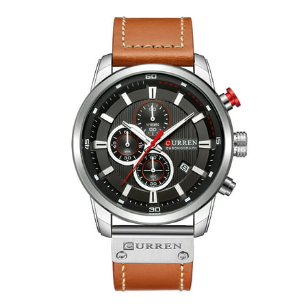 Relógio Mecânico masculino WOSOSYEYO Curren modelo 8291