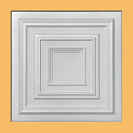 White Styrofoam Ceiling Tile Antyx Package Of 8 Tiles