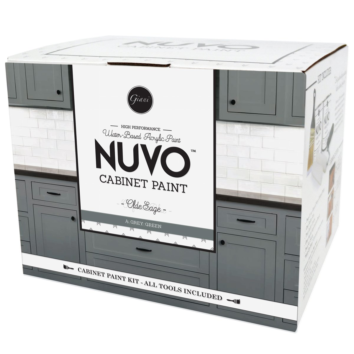 Nuvo Cabinet Makeover Paint Kit