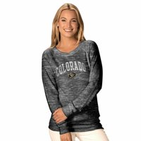 NCAA Womens Ultimate Lightweight Carefree Crewneck - Multiple Teams (Womens Extra Large, Indiana Hoosiers - Gray)