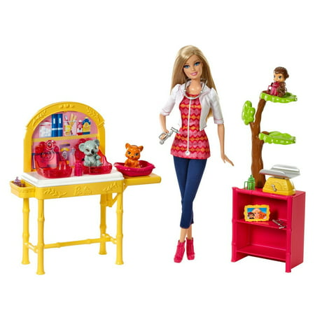Barbie Careers Zookeeper Doll and -