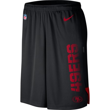 San Francisco 49ers Nike Sideline Player Knit Performance Shorts -