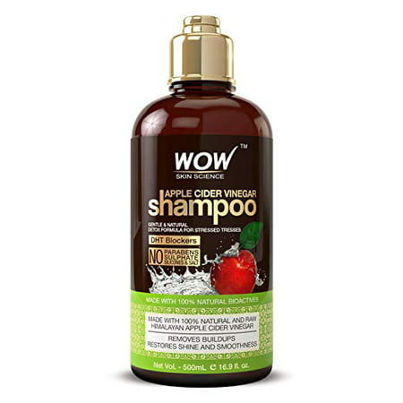 WOW Apple Cider Vinegar Shampoo 16.9 fl oz - Sulfate Free For Itchy