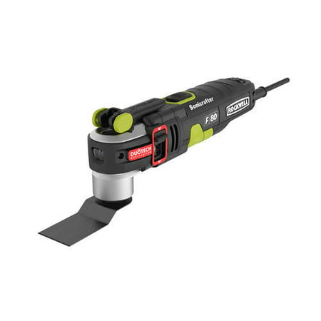 Rockwell RK5151K Sonicrafter F80 4 2 Amp Oscillating Multi Tool with D