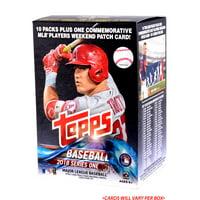 2018 Topps Baseball Series 1 Factory Sealed 10 Pack Blaster Box - No Size