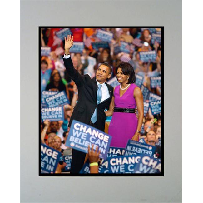 Encore Select M2-obama2 Barack Obama 11 in. x 14 in. Photograph in a Mat