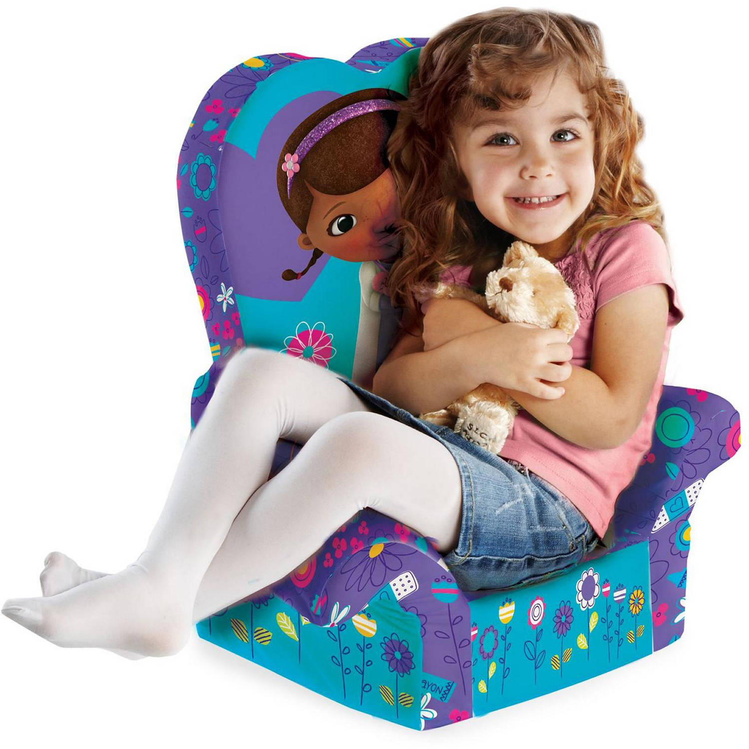 Marshmallow High Back Chair, Disney Doc McStuffins