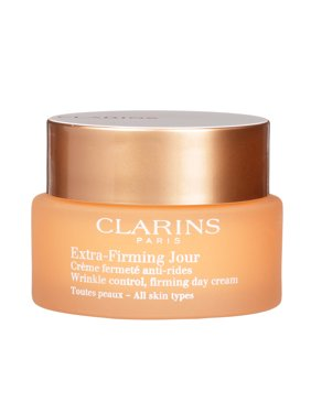($86 Value) Clarins Extra Firming Day Wrinkle Lifting Face Cream, 1.7 Oz