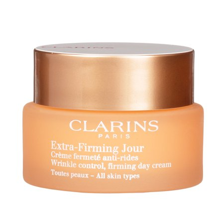 ($86 Value) Clarins Extra Firming Day Wrinkle Lifting Face Cream, 1.7