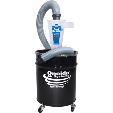 Oneida Molded Deluxe Dust Deputy Kit With 10-gallon Steel - Deluxe Dust