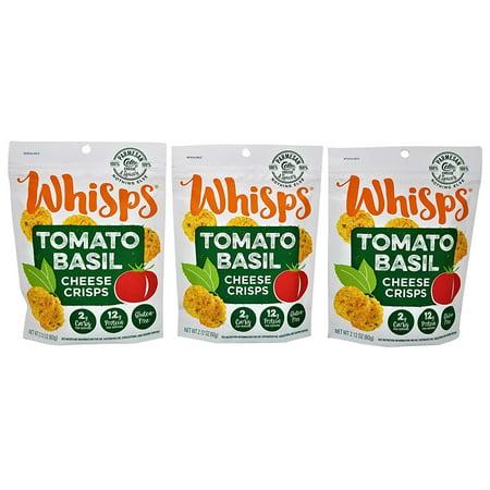(3 Pack) Cello Whisps Tomato Basil Low Carb Keto