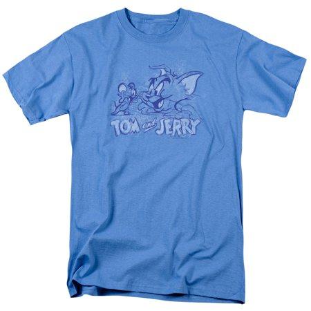 Jerry Seinfeld Puffy Shirt (Tom And Jerry Sketchy Mens Short Sleeve)