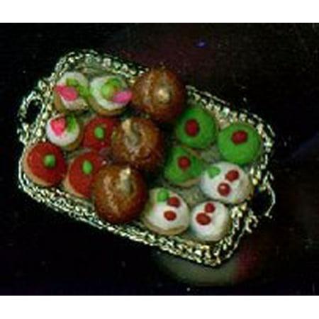 Dollhouse Christmas Platter ()