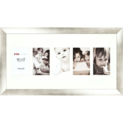 Silver 5-Opening Collage Frame, Set of 2