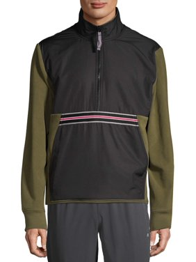 Russell Men's and Big Men's Microfleece Quarter Zip Pullover, up to Size 3XL