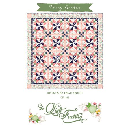 Posey Garden Quilt Pattern by the Quilt Factory (Doll Quilt Patterns)