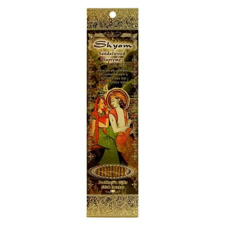 Incense Sticks Shyam - Sandalwood Supreme