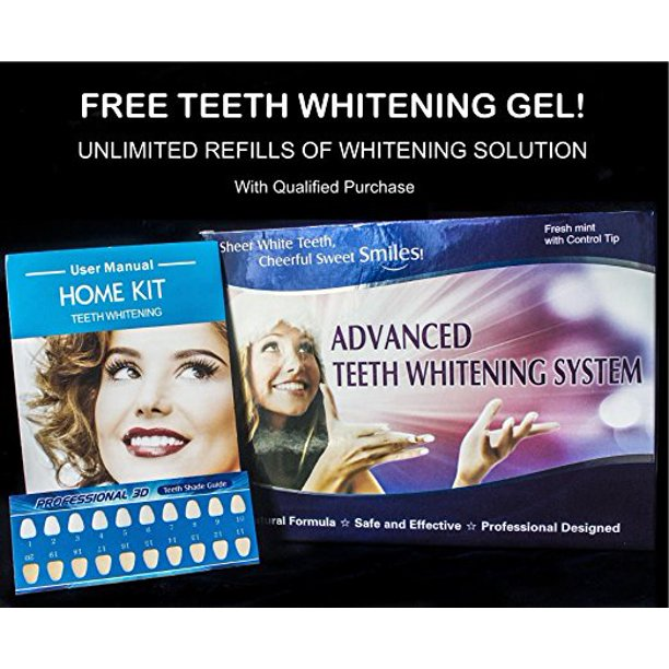 Advanced Teeth Whitening Kit Walmart Com Walmart Com