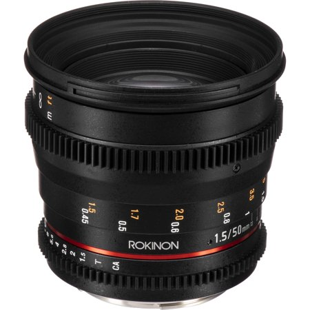 Rokinon 50mm T1.5 AS UMC Cine DS Lens for Canon EF (Rokinon 35mm T1 5 Cine Ds Lens)
