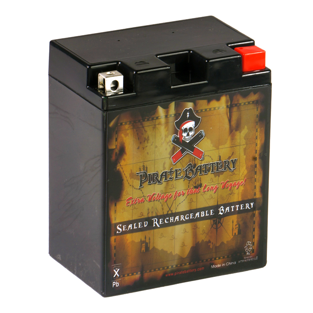 YTX14AHL-BS Motorcycle Battery for Suzuki 650cc LS650 Savage S40 1991