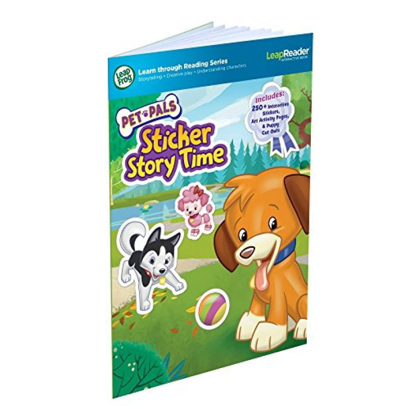LeapFrog LeapReader Book: Pet Pals Sticker Story Time (works with Tag) by Leap Frog