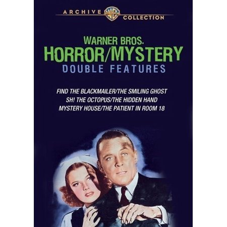 Warner Bros. Horror/Mystery Double Features (DVD) (The Best Of Cliff Richard And The Shadows)