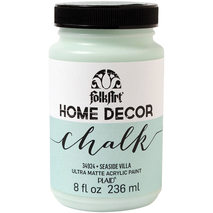 Folkart Home Decor Chalk Paint 8Oz Available In Multiple Colors