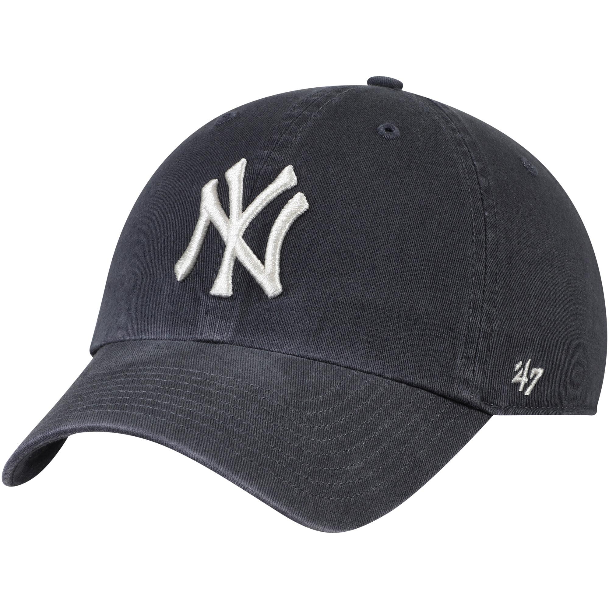 New York Yankees '47 Vintage Clean Up Adjustable Hat - Gray - OSFA