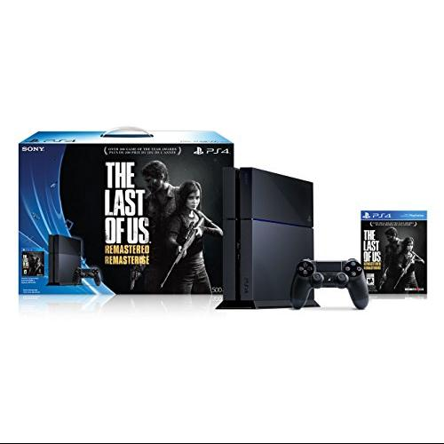 Sony PS4 500GB Console The Last of Us Remastered