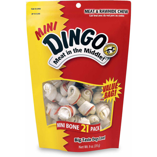 United Pet Group Dingo Dog Treats, 21-Pack
