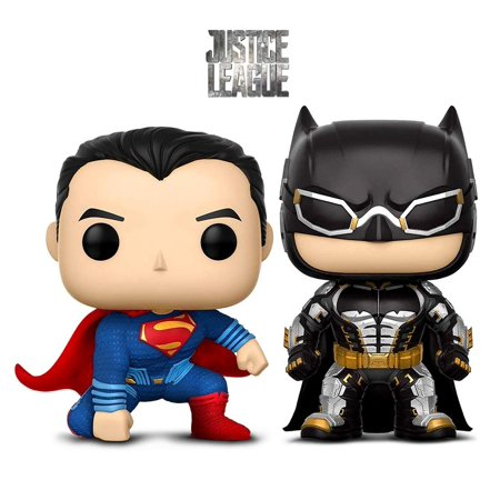 Warp Gadgets Bundle - Funko Pop Movies Dc Justice League - Batman and Superman - Collectible Vinyl Figure (2 Items) - Buy Poe Items