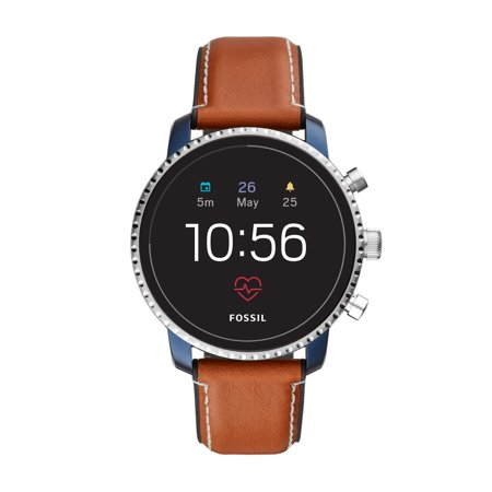 Fossil Gen 4 Explorist HR Men's Smartwatch - Luggage Leather - Powered with Wear OS by