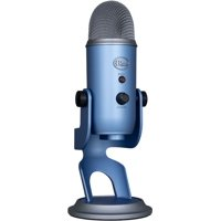 Blue Microphones - Yeti USB Multi-Pattern Electret Condenser Instrument and Vocal Microphone