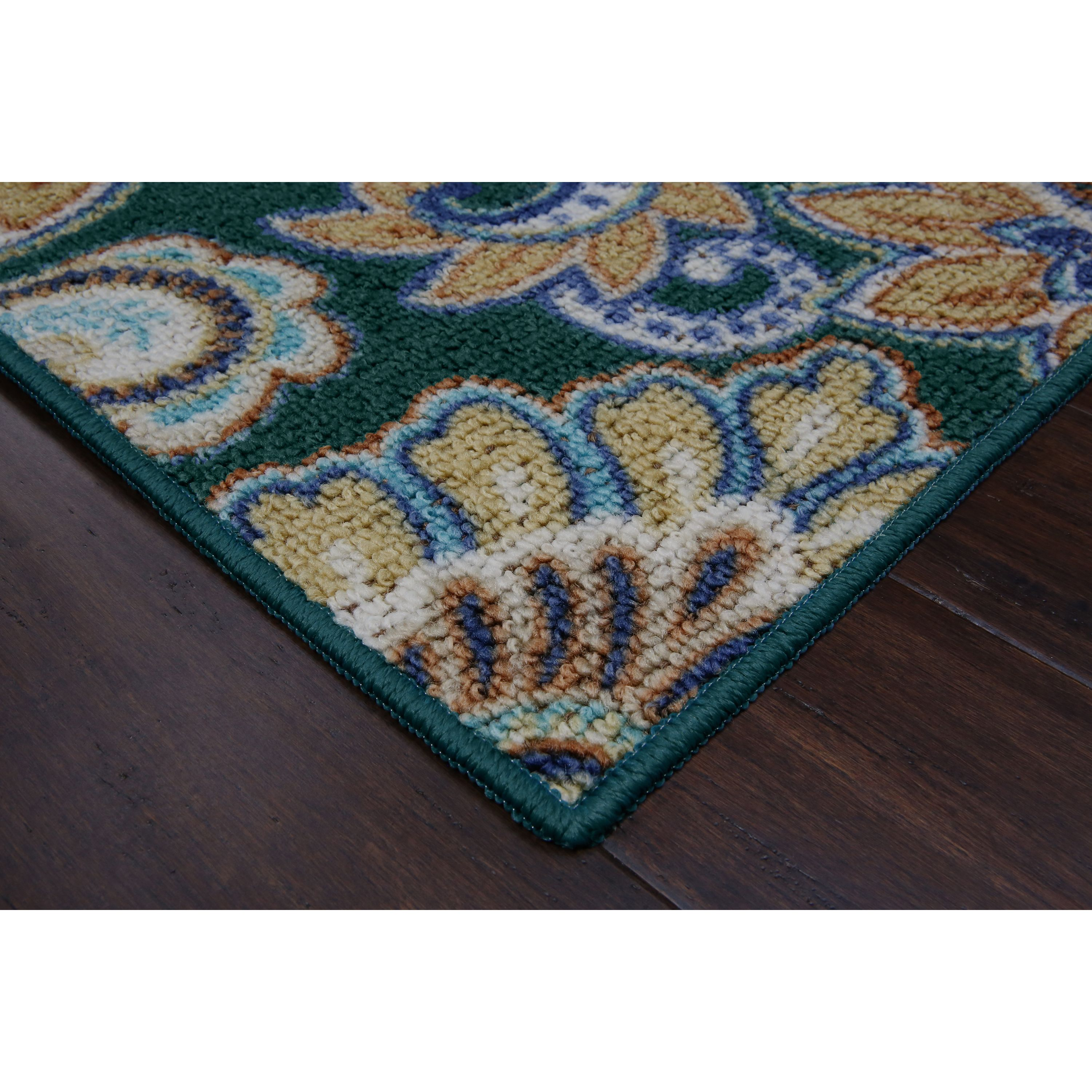 Better Homes and Gardens Brown Paisley Berber Printed Area Rugs or