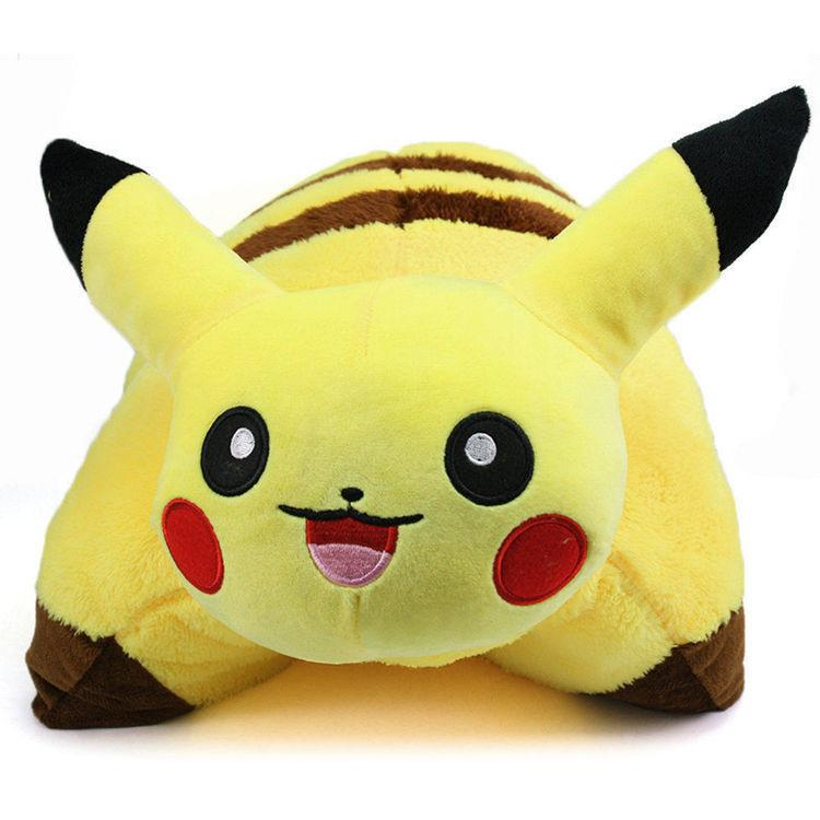 Pokemon Pikachu Transforming Pillow Pikachu pillow pet Cushion Pillow Plush 17""