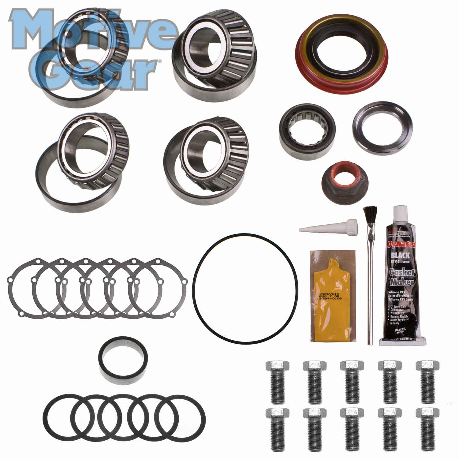 Motive Gear R9R306MK MOGR9R306MK FORD 9 W/3.062 HOUSING & LG REAR PINION BEARING MASTER BEARING KIT TIMKEN