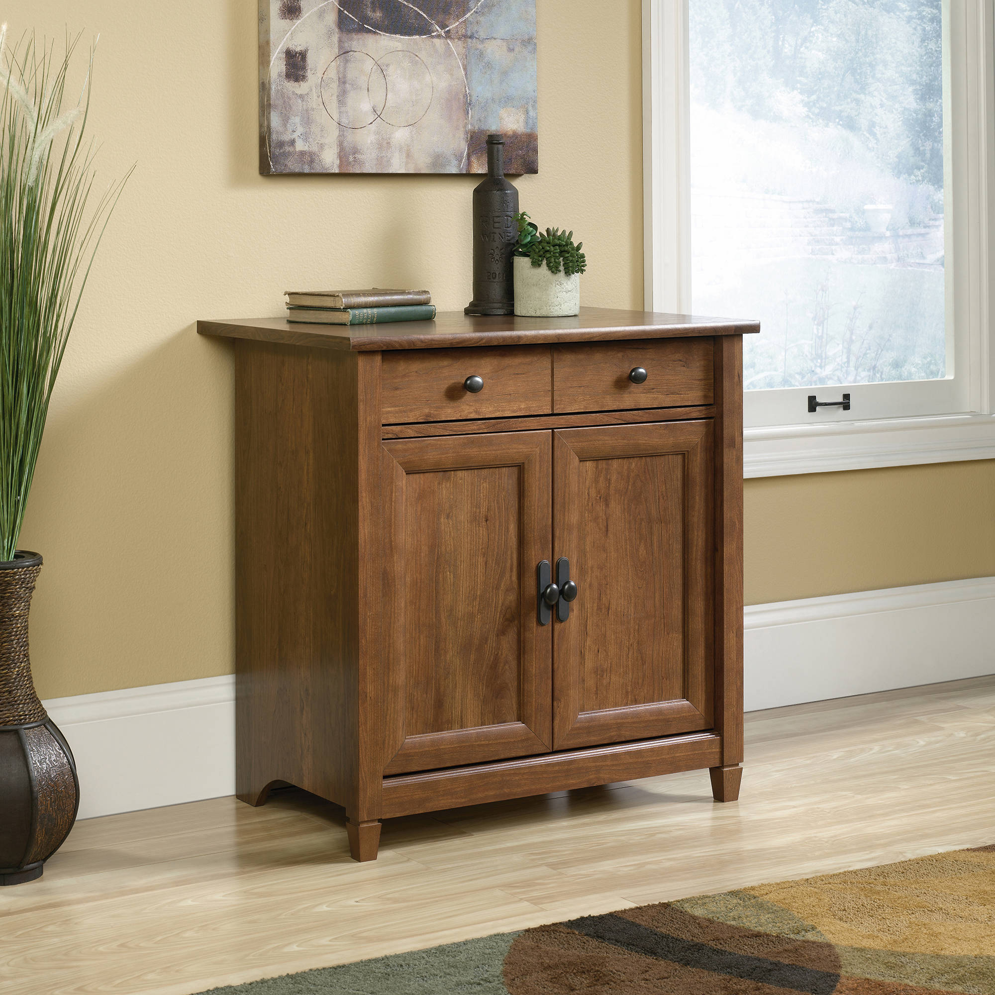 Sauder Edge Water Utility Stand, Multiple Finishes