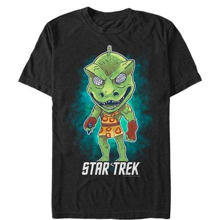 Star Trek Men's Cartoon Gorn Alien T-Shirt (Star Trek Cartoon)