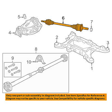 Prime Chrysler Oem Rear Axle Assembly Or Cv Shaft 4578733Ae Walmart Com Wiring Digital Resources Funapmognl