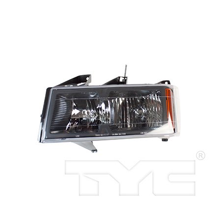 CarLights360: Fits 2006 2007 2008 2009 Chevrolet Colorado Headlight Assembly Driver Side (Left) CAPA Certified w/Bulbs - Replacement for GM2502234 (Vehicle Trim: