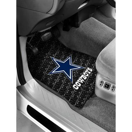 c4091ec21 NFL - Dallas Cowboys Floor Mats - Set of 2 - Walmart.com