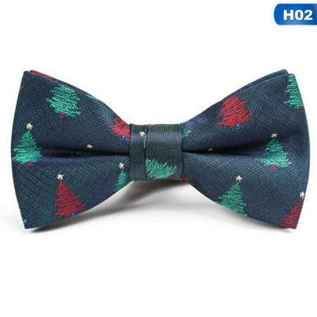 AkoaDa Fashion Christmas Bow Tie Children Xmas Clothing Decoration Secret Santa Gift