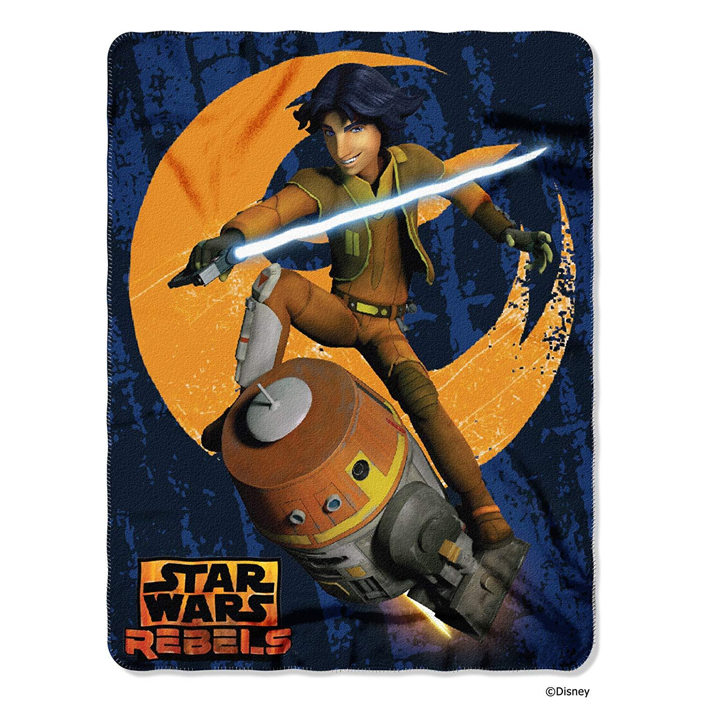 Fleece Throw - Star Wars Rebels - Lucas' Ezra Rocket New Fleece 286061