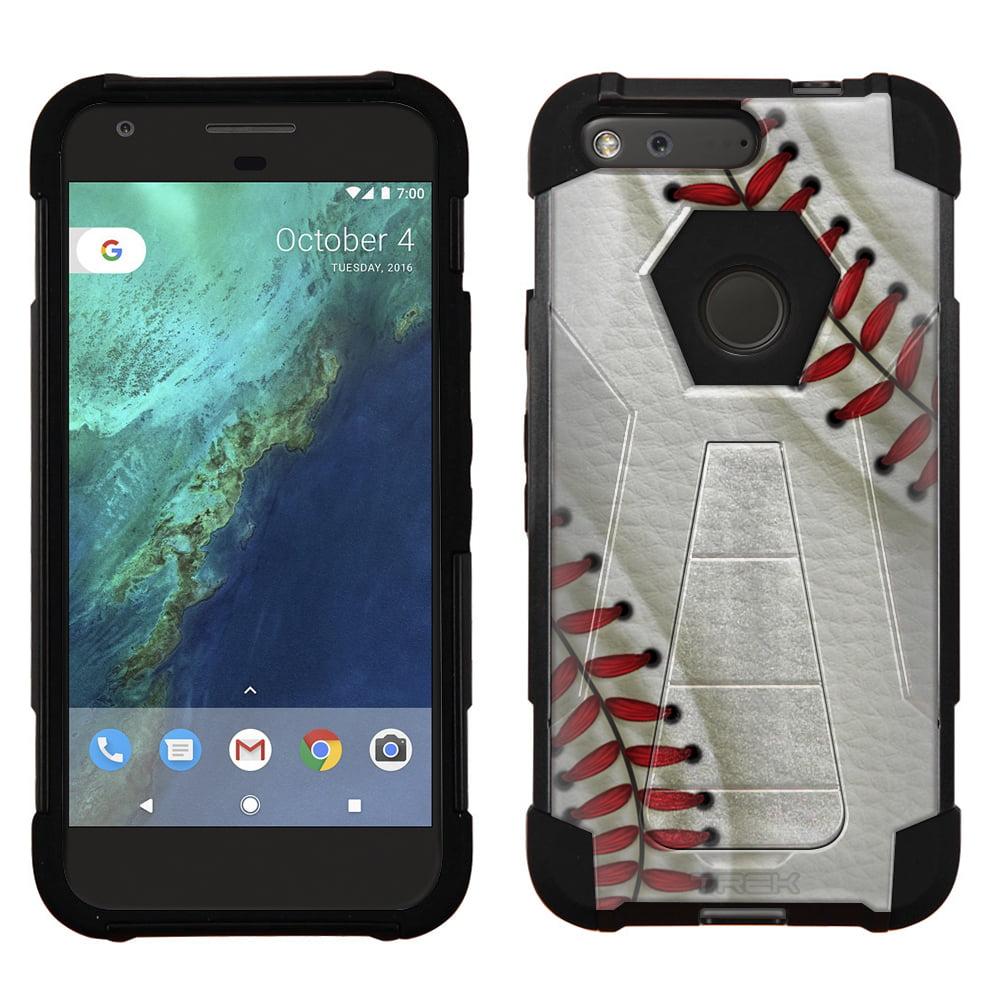 Google Pixel Hybrid Stand Case - Baseball Laces