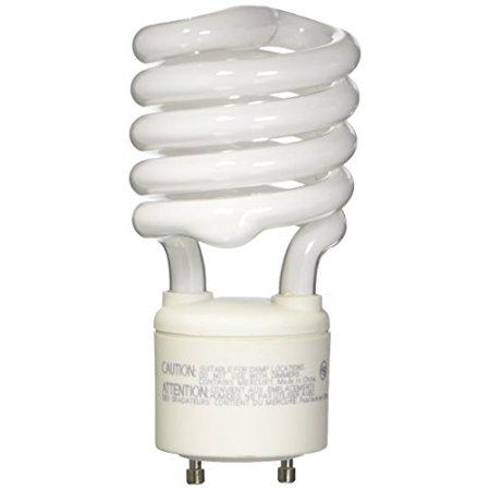 Twist & Lock Non Dimmable 100 Watt Springlamp CFL GU24 Base Spiral Light Bulb Dimmable Twist Bulb