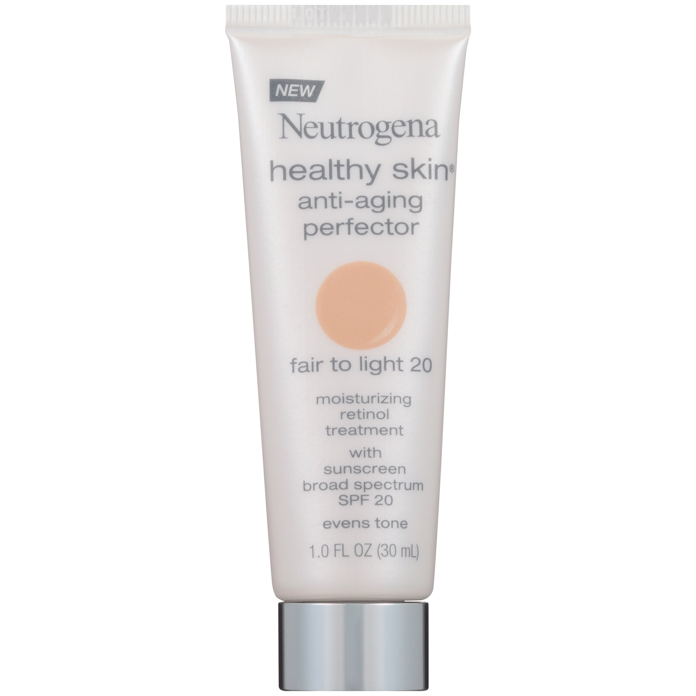Neutrogena Healthy Skin Anti-Aging Perfector SPF 20, 20 Fair To Light, 1 Fl. Oz