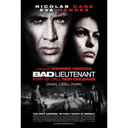The Bad Lieutenant: Port of Call New Orleans (2009) 11x17 Movie Poster - Nueva Orleans Halloween