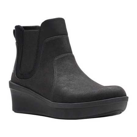 Women's Clarks Step Rose Sun Chelsea Wedge Boot