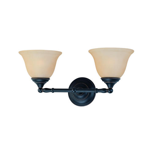 Thomas Lighting SL770263 Rockford 2-light Bath Fixture, Painted Bronze by Thomas Lighting